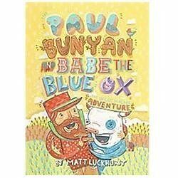 Paul Bunyan and Babe the Blue Ox: The Great Pancake Adventure-ExLibrary