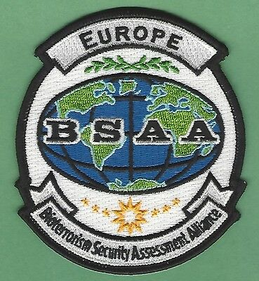 Bsaa Resident Evil Europe Bioterrorism Security Assessment Alliance Patch