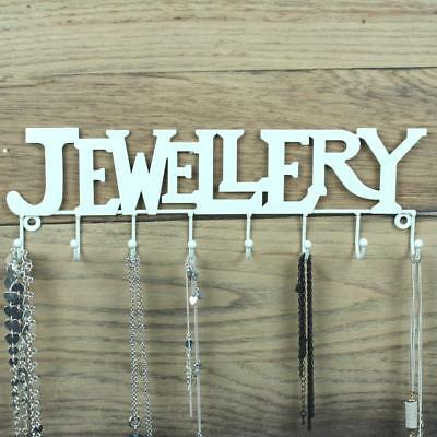 9Pc Jewelry Wall Hanger Holder Stand Organizer Necklace Bracelet Perfect Adient