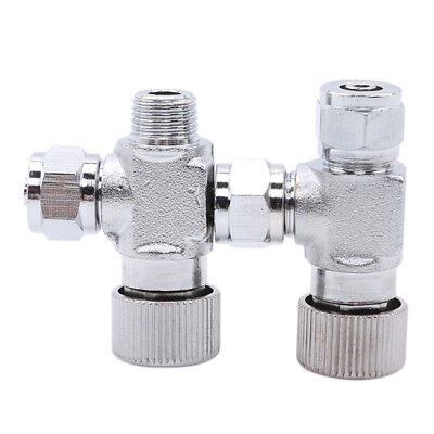 Precise CO2 Needle Adjustment Valve Regulator For Aquarium Water Plants Air Pump