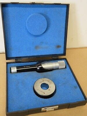 Bowers 19mm - 25mm Internal Bore Micrometer Complete In Box ME1740