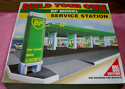 BP Model Gas Station Kit Toy Sealed Build Your Own
