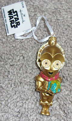 Star Wars C3PO Threepio w/ Gifts Christmas Ornament by Hallmark
