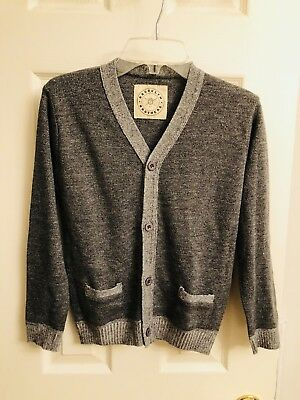 Boys Cardigan Size 6-7 Grey