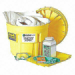 ENPAC Spill Kit, Oil-Based Liquids, Yellow, 1322-YE, Yellow