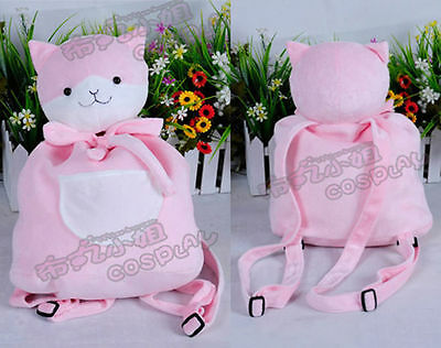 Danganronpa Dangan-Ronpa Nanami Chiaki Cat Bag Cosplay Japanese Doll Pillow Gift