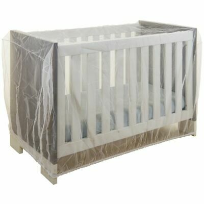 Babsana Mosquito Net for Crib White Fly Insect Bug Protection Mesh 1025.01