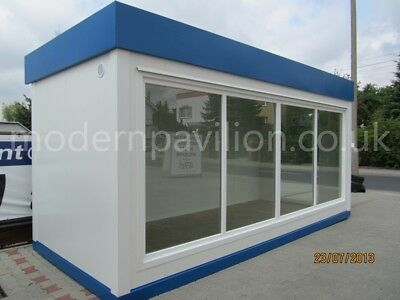 Modular Building, Portable Cabin, Site Office, Canteen, House Summer