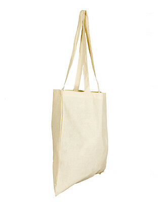Natural Cotton Shopper Tote Bags Brand New