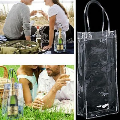 Foldable Wine Beer Champagne Drink Ice Bags Bottle Cooler Chiller Carrier Xmas