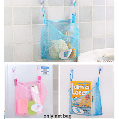 Bath Toys  Kids Toy Net Holder Mesh Bag Bathroom Organizer Baby Shower Storage