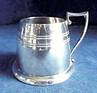 SUPERB ~ SILVER Plated ~ TANKARD Cup ~ c1900 by James Dixon