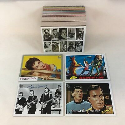 TOPPS CARD COMPANY 75th ANNIVERSARY Trading Card Set 100 Includes RETRO REPRINTS