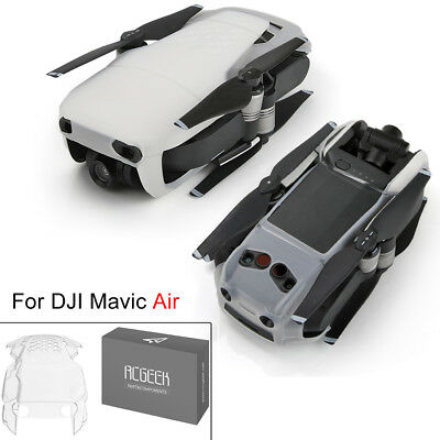 New Clear Soft Silicone Cover Body Skin Protective Case for DJI Mavic Air Drone