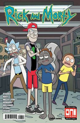 RICK AND MORTY (2015) #43 - Cover A - New Bagged