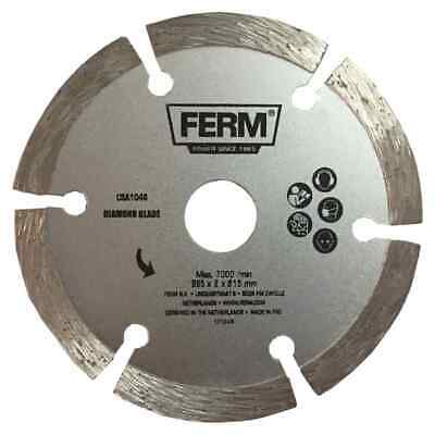 FERM Precision Diamond Saw Blade 85mm Segmented Rim Dry Cutting Tool CSA1046