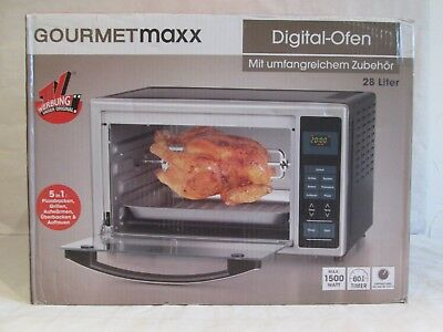 Infrarot-Ofen mit Digital-Display 28 Liter 1500 Watt