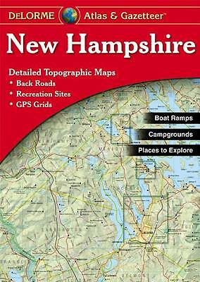 New Hampshire Atlas and Gazetteer: Topographic Maps of the Entire State (New Ham