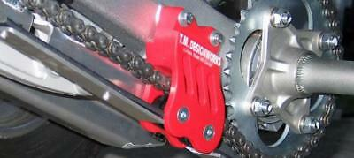 TM Designworks Rear Chain Guide & Dual Powerlip Roller Red Honda TRX450