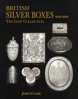 British Rare Antique Silver Boxes 1640-1840 Reference w Snuff, Tobacco, Others