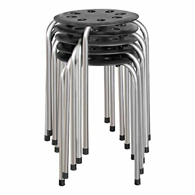 "Norwood Commercial Furniture NOR-STOOLBS-SO Plastic Stack Stool, 17 3/4"" Height,"
