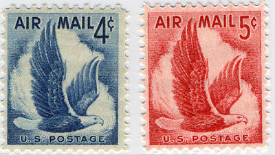 US Scott # C48 & C50 Eagle in Flight  4¢ & 5¢ Set of 2  MNH ***FREE SHIP****