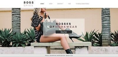 Online Womens Work Clothes Dropship Internet Business For Sale