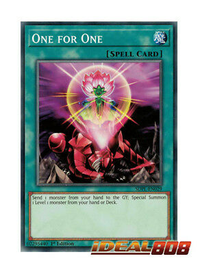 YUGIOH x 3 One for One - SDPL-EN029 - Common - 1st Edition Near Mint
