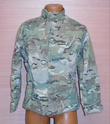 US Military Issue Multicam OCP Camouflage Army Combat Coat Jacket FR Sz XSXS