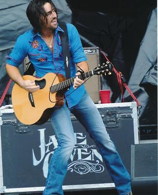Jake Owen- Color Glossy Signed Photograph in Person
