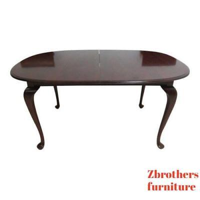 Ethan Allen Georgian Court Cherry Dining Room Banquet Conference Table
