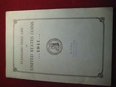 VINTAGE STANDARD Price List, 1941  Coins, Currencies WAITE RAYMOND