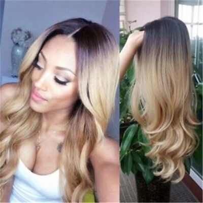 Long Wavy Wig Ombre Synthetic Hair Wig For Women's Cosplay / Party LG