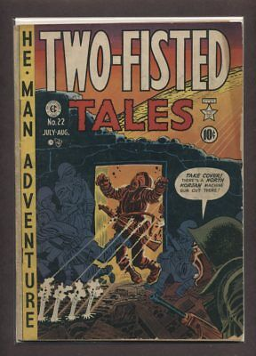 Two-Fisted Tales #22 G/VG 1951 EC Comic Book