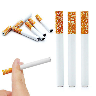 1PC Cigarette Shape Metal Pipe Dug Out One Hit Tobacco Pipe bong cone stem
