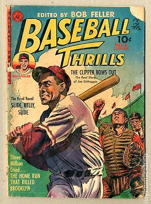 Baseball Thrills #3 1952 FR/GD 1.5 Low Grade