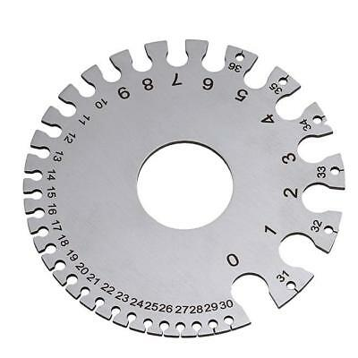 Standard Round Precision Measurement Stainless Wire Gauge Universal Tool C