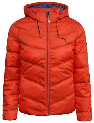 Puma Down Filled Womens Windproof Coat Puffer Jacket Red 834680 03 PP