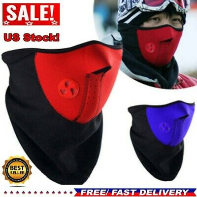 Men Cycling Face Mask Windproof Winter Outdoor Sport Riding Ski Face Shields USA