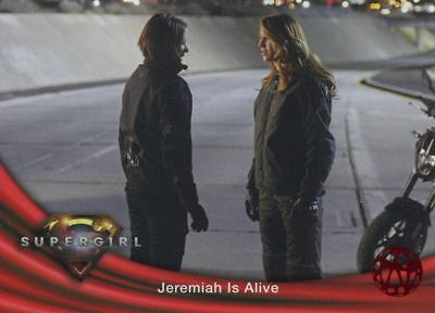 Supergirl Season 1 Red Foil Base Card #60 Jeremiah is Alive