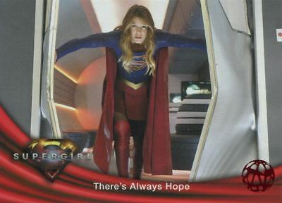 Supergirl Season 1 Red Foil Base Card #19 There's Always Hope