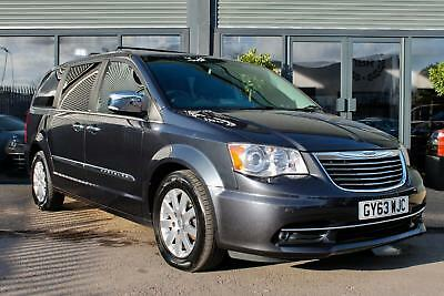 Chrysler Grand Voyager 2.8 CRD Limited 5dr Auto 2014 63 Grey Metallic