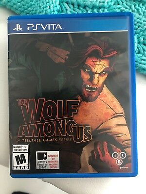 PSVITA THE WOLF AMONG US Game Complete Leaflet