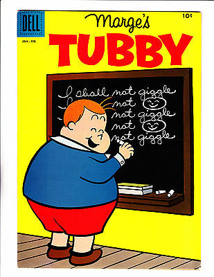 Marge's Tubby  No.26    : 1958 :   : Detention Cover! :