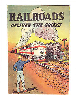 Railroads Deliver The Goods!    : 1950s? :     : Giveaway! :