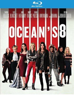 Oceans 8 (Blu-ray Disc ONLY, 2018)