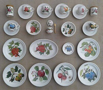 Portmeirion - Pomona - Selection Of Cups & Saucers, Plates & Other Tableware.
