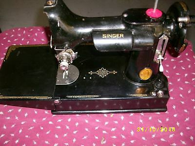 PREOWNED SINGER SEWING Machine Model 40 W40 Stitch Function Adorable Singer 1120 40 Stitch Function Sewing Machine