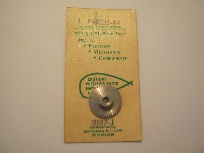 """W.M. Berg (SPUR GEAR 3/16"""" BORE)Part #P48S19-44 (303 Stainless Steel)"""