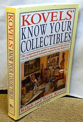 Kovel's Know Your Collectibles Paperback Book Reduced!